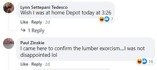 exorcism at home depot