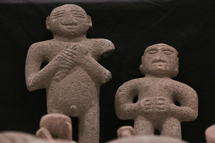 artifacts returned to Costa Rica
