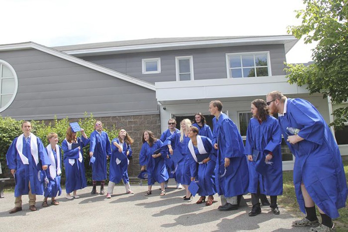 seniors skip trip to help others in need