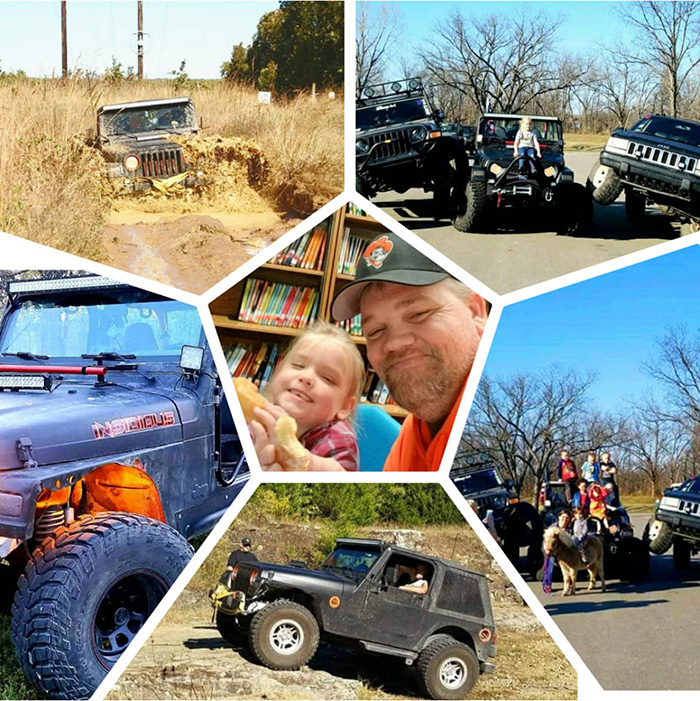dad jeep funeral for daughter