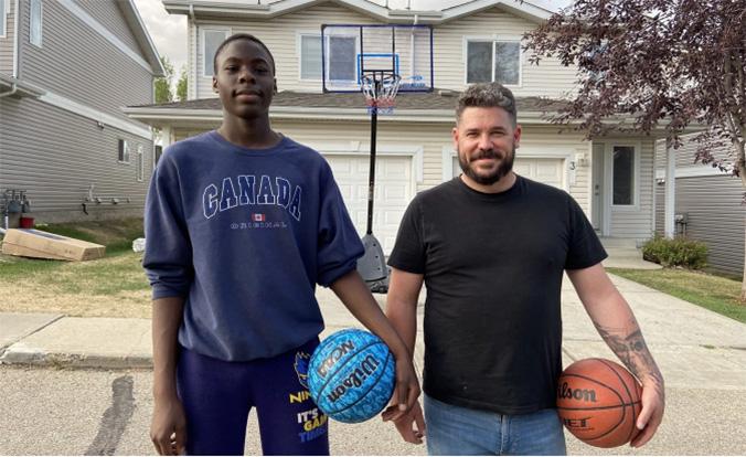 community gifts teen basketball hoop