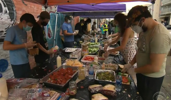 music venue feeding people new orleans
