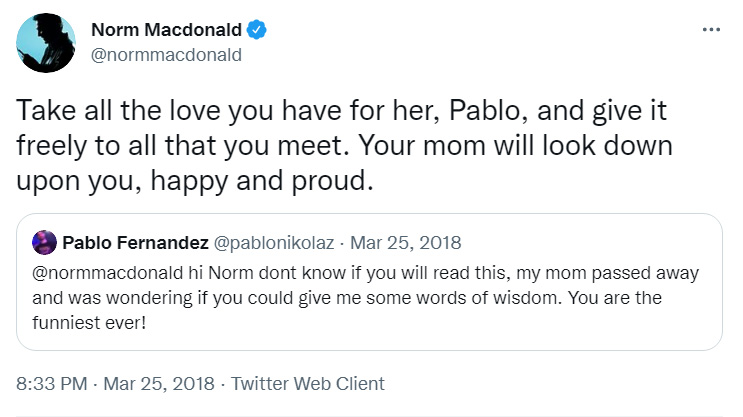 best Norm Macdonald quotes