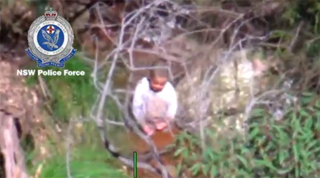 nsw police find missing boy