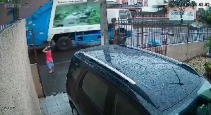 garbage truck driver in brazil saves boys life