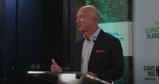 Jeff Bezos 1 billion dollars to nature