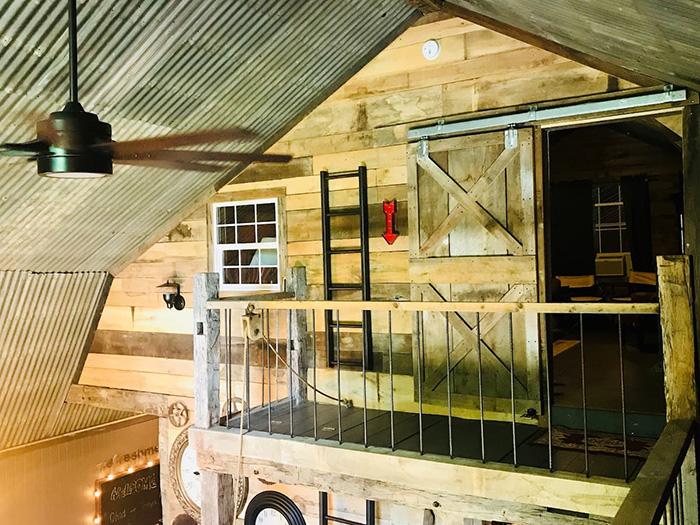 house inside a barn airbnb