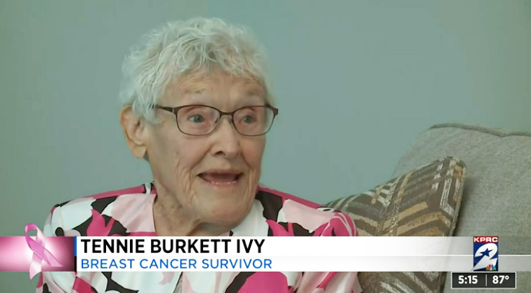 97 year old woman beats cancer